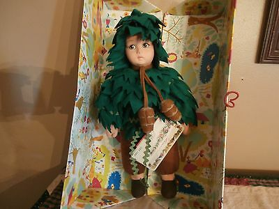 Rare LENCI Pino (Pine Tree) Doll, Limited Edition #281/499 with Tags