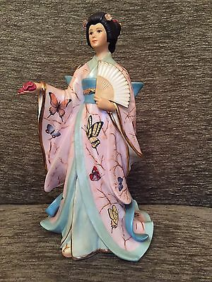 Stunning Adrian Hughes The Butterfly Princess-Danbury Mint Figure