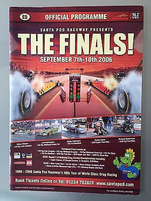 Drag Racing Program For The Finals 2006