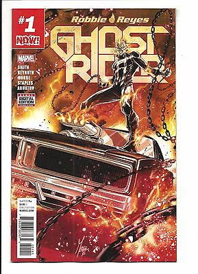 GHOST RIDER # 1 (Marvel Now! JAN 2017), NM NEW (Bagged & Boarded)