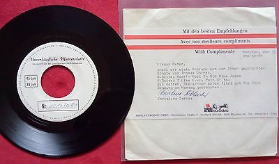 Thomas Ohrner - Rock'n Roll In Old Blue Jeans -  RARE PROMO !!!