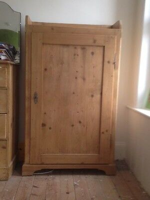 Antique Pine Cabinet Perfect for Alcoves