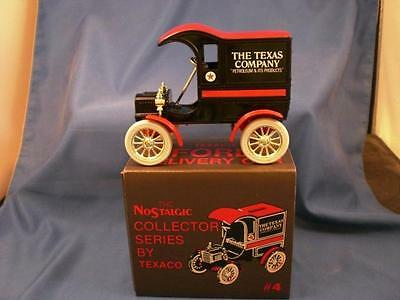 Texaco 1905 Ford Delivery Car Collector Bank #4 MIB