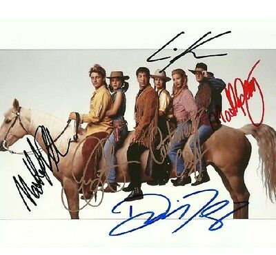 FRIENDS CAST  is a 8 BY 10 INCH AUTOGRAPHED PICTURE WITH A COA