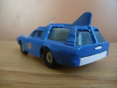 Dinky Capatain Scarlet Spc 103 Captain Blue  Restored