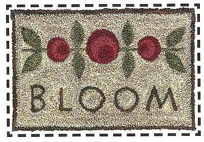 "Punchneedle Pattern by Artful Offerings ""Blooming Blossoms"" (Quick & Easy)"
