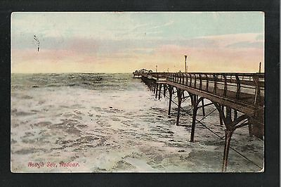 L@@K  Rough Sea Redcar 1911 ~ NICE IMAGE ~ GOOD QUALITY CARD