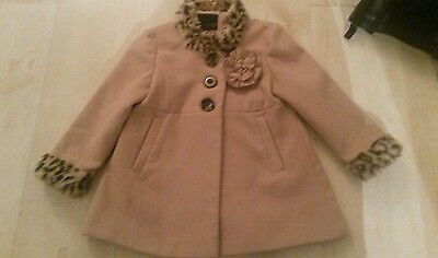 Girl's Beautiful  Next Coat, size 3-4 yrs. V. G. C.