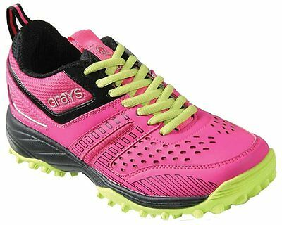 Grays G5000 Hockey Shoes - Pink/Lime
