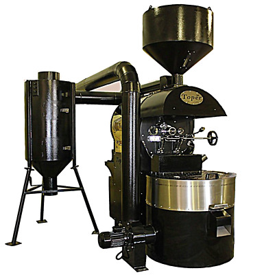 Toper 30 kg/batch Industrial Coffee Roaster 80-120kg/h TKM-SX 30 Artisan Ready
