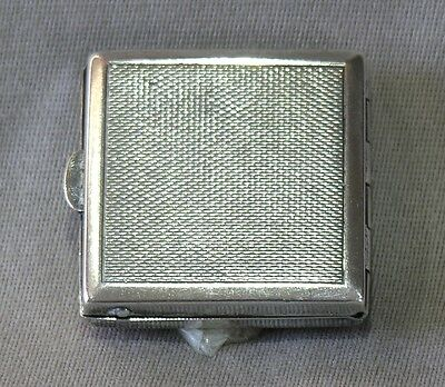 Vintage Silver Plated Pill Box