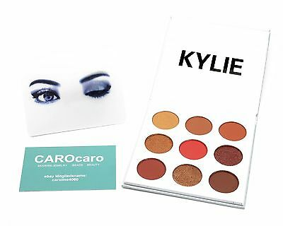 Kylie Jenner Cosmetics The Burgundy Palette Kyshadow EYESHADOW Original & Neu