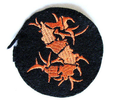 Original 90's SEPULTURA Logo Patch - Woven Sew On Used Soulfly Pantera Slayer