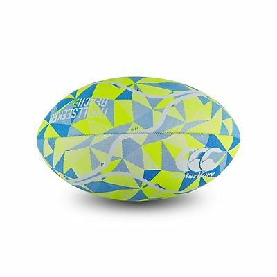 Canterbury Thrillseeker Beach Rugby Ball - Safety Yellow