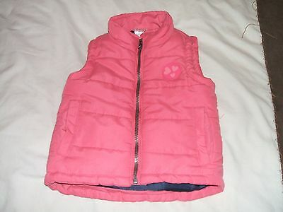 Childs E-Vie Angel Sleeveless Jacket. Age 2 Years. Pink
