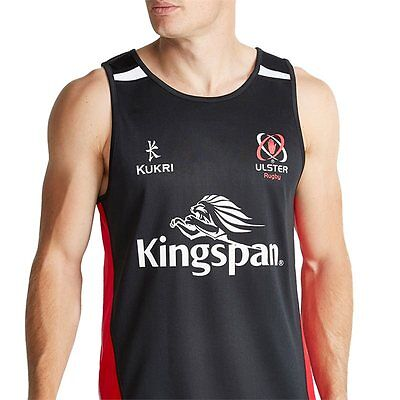 Kukri Ulster Rugby Performance Gym Vest / Singlet - Red