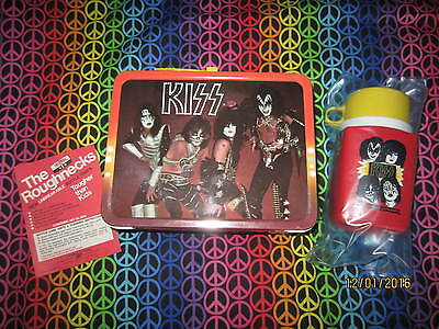 KISS Lunchbox and Thermos, 1977