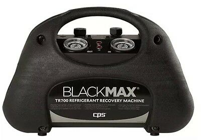 CPS BLACKMAX TR700 Oil Less Two Cylinder Refrigerant Recovery Machine.
