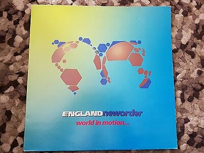 """New order world in motion single 12"""""""