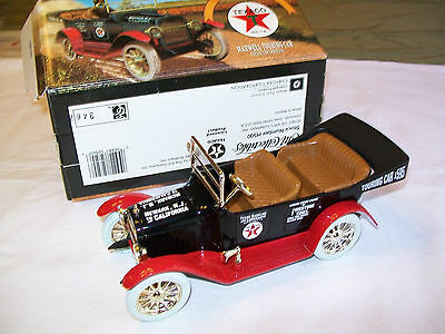 Texaco 1917  Maxwell  Touring Car  Coin Bank   Minty In Original Box