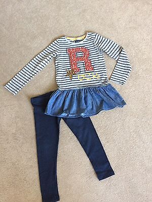 Girls Next Top And Leggings Age 7