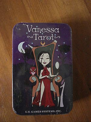 Vanessa Tarot Deck - New, Sealed -Packaged in a Tin