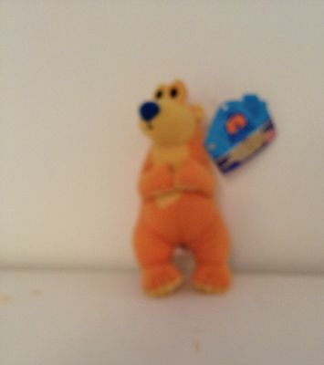 Clip On Bear In The Big Blue House With Tag By Fisher Price