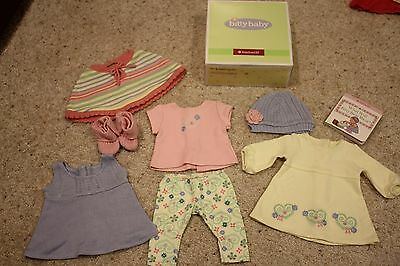 American Girl Bitty Baby Mix and Match Outfits Set, NIB! 2011