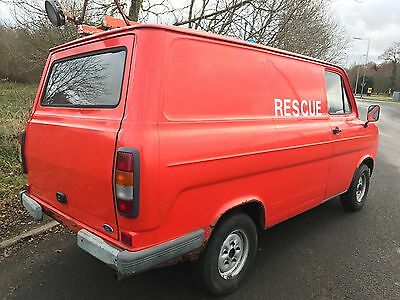 Unique Opportunity Ford Transit MK2 Unregistered Custom