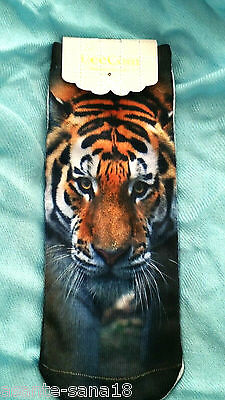 Gorgeous Striking TIGER NewTrainer SOCKS UK Size 3-7, 3D Digital Photo UK Seller