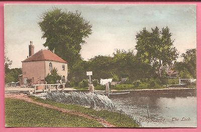 Pangbourne. The Lock, Berkshire postcard. Frith.