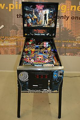 Twilight Zone Flipper Pinball von Bally F0783