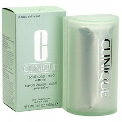 Clinique 100g Facial Soap Extra Mild with Dish