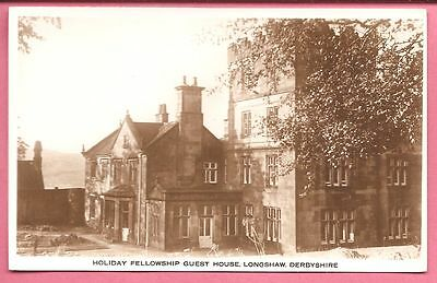 Holiday Fellowship Guest House, Longshaw, Derbyshire postcard. Real Photo.