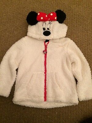 Minnie Mouse Fleece Jacket 3-4 Years BNWT