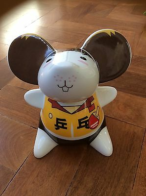 Beijing 2008 Olympics year of the rat mouse ping pong money box