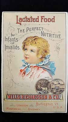 Victorian Advertising Booklet Lactated Food Infants Invalids Diamond Dyes