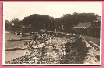 The Duver, Seaview, Isle of Wight postcard. Real Photo. Nigh.