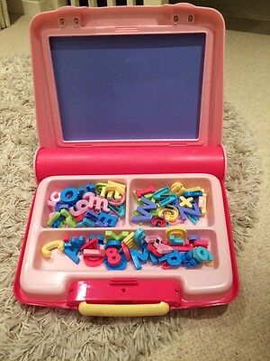 Magnetic Playcentre & Letters (Pink)