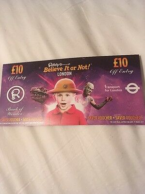 Ripley's Believe It Or Not London £10 Off Entry For 4 People Saving £40 Discount