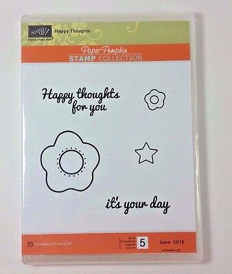 Stampin' Up! HAPPY THOUGHTS Paper Pumpkin Kit June 2015