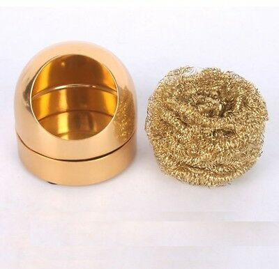 Arlent 599B Soldering Iron Tip Cleaning Wire Nozzle Cleaner Sponge