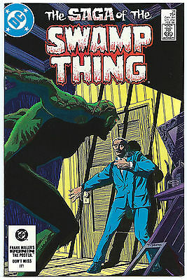 Swamp Thing 21 Alan Moore Classic Very High Grade Nm 75¢ 1984