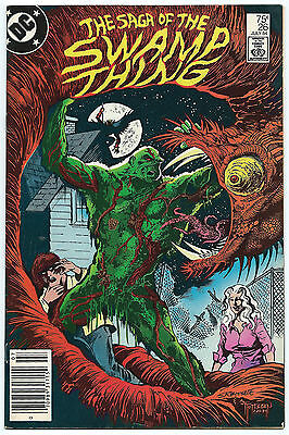 Swamp Thing 26 Alan Moore Totleben Nice Copy 75¢ 1984