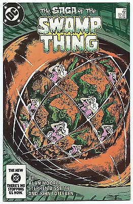 Swamp Thing 29 Alan Moore Totleben High Grade 75¢ 1984
