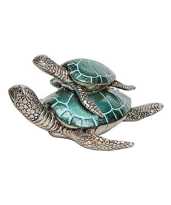 Interior Illusions NEW Mom and Baby Turtle Figurine: Retail- $45.00