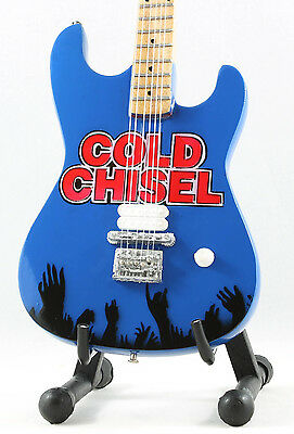 COLD CHISEL Miniature Guitar with stand