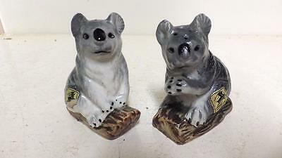 vintage grizelle japan koala salt and pepper shakers