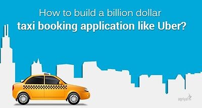 On Demand Taxi Booking Application Uber Clone