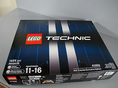 NEW Sealed Lego 41999 Technic 4x4 Crawler Exclusive Limited Edition